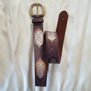 Fossil Leather Belt! Like New!